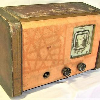 Радиоприёмник ИРЗ ламповый старинный