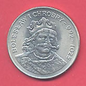 Монеты Европа Польша 50 Злотых Болеслав Храбрый1980 г.