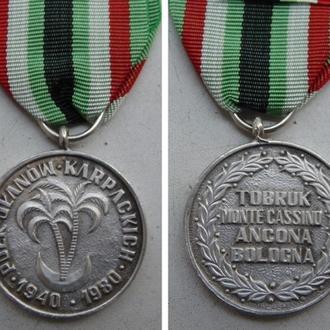 медаль. Польша / MEDAL PUŁK UŁANÓW KARPACKICH