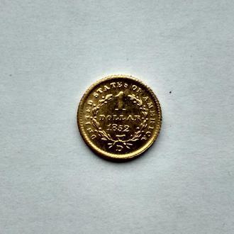 США 1 Доллар.Редкий год.Редкая монета.