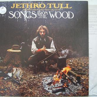 JETHRO TULL  Songs From The Wood   LP  EX