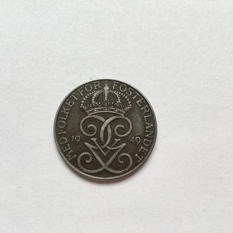 Швеция 1949  5 эре. Сохран. Железо.