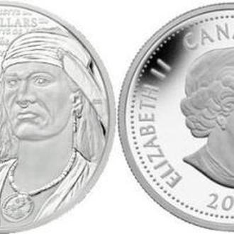Shantaaal, Канада 25 центов 2012, Текумсе (цветная)