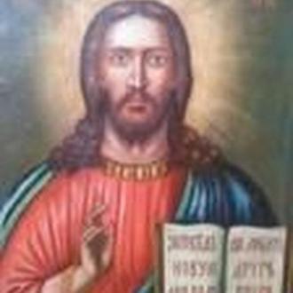 икона 19 век, Христос Вседержитель