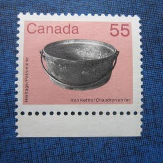 марка Канада стандарт антиквариат н/гаш