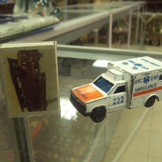 машинка majorette ambulance 1|60 №9506