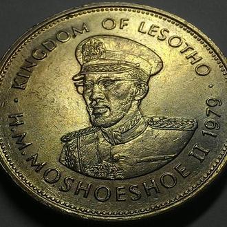 Лесоти, 1 лоти 1979  год Никель, дм. 28,5 мм, вес 11,3 г  СОСТОЯНИЕ!!! не частая!!