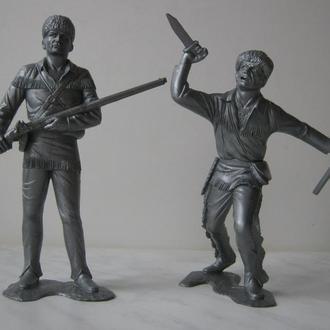 Солдатики СССР - Американские скауты - набор 1 - с пресс-форм ДЗИ