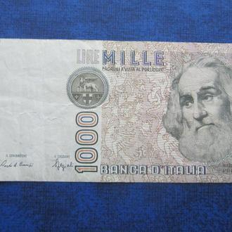 банкнота 1000 лир Италия 1982