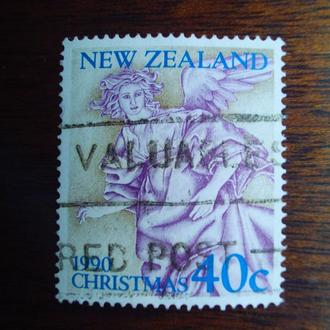 Новая Зеландия.1990г. Искусство. Рождество.