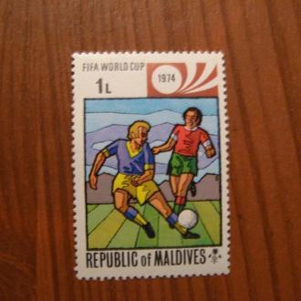 1974,Мальдіви,Футбол