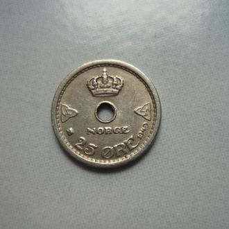 Норвегия 25 эре 1949