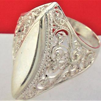 Кольцо перстень серебро 925 проба 19,5 размер 4,30 гр. без пробы