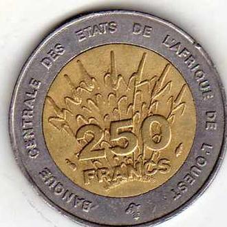 Западная Африка 250ф 1993г