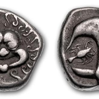 (А)3375 - Аполлония Понтийская (400—350 до н.э.) AR Драхма