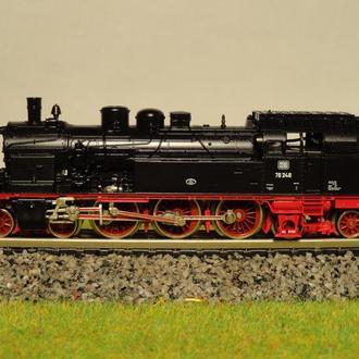 (1350) паровоз Fleischmann BR 78 в масштабе N (1:160)