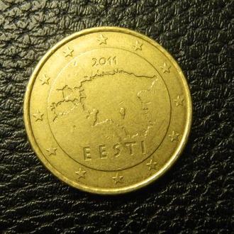 50 євроцентів 2011 Естонія