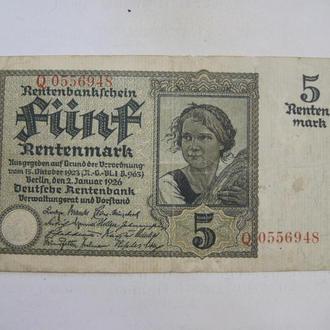 Германия 5 марок