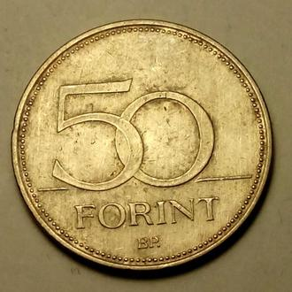 50 форинтов 1995 года Венгрия  !!! а2