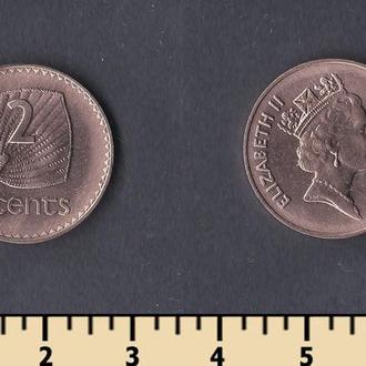 Фиджи 2 цента 2001