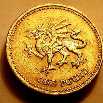 1 фунт 2000 года Великобритания - а