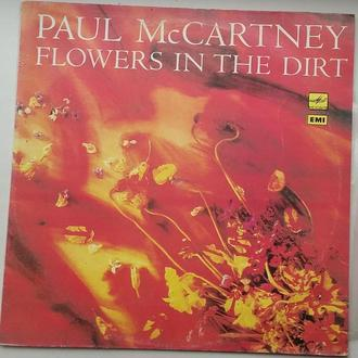 PAUL McCARTNEY  Flowers In The Dirt   LP  NM/VG