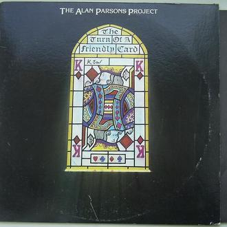 THE ALAN PARSONS PROJECT  The Turn Of A Friendly Card LP  VG++/VG+