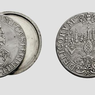 (А)3141 - АВСТРИЯ, Фердинанд III (1637—1657 г.) AR Талер 1641