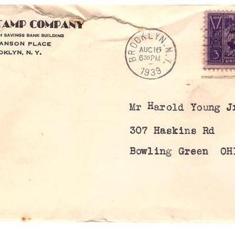 США 1939 г  - Фил. компания - Бруклин