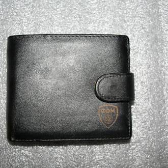 Мужской кожаный портмоне Федерации футбола Македононии \ после не выкупа\