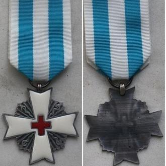 Медаль. Красный крест