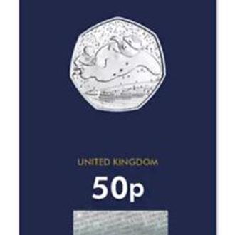 Shantal, Англия, Великобритания 50 пенсов 2018, Снеговик