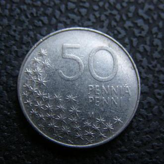 50 пенни 1991 Финляндия