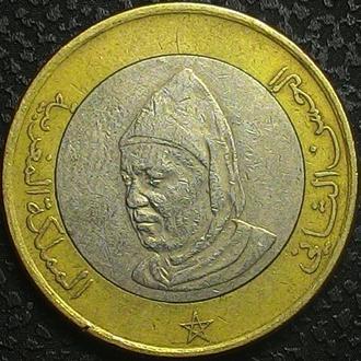 Марокко 10 дирхам 1995 год