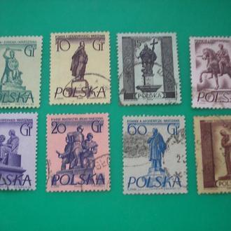 Польша 1955  Варшава полн.