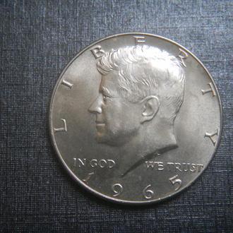 США 1/2 доллара 1965 Серебро