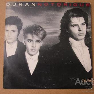 LP: Duran Duran. Notorious Болгария