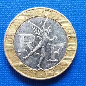 Франция 10 франков 1991 год (461)