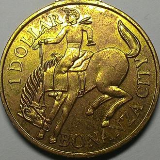 Медаль BONANZA CITY дм. 40 мм.