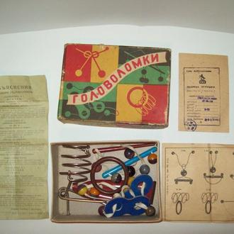 Головоломка СССР 1963 год