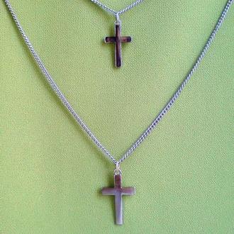 Крестики (пара) на двойной цепочке