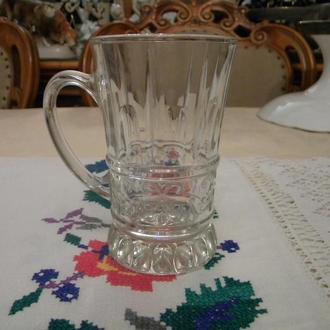 Кружка Чашка чайная стекло СССР №Д16(1)