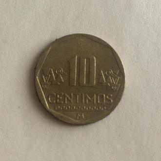 Монета Перу