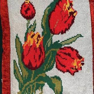 вишита картина тюльпани (№618)