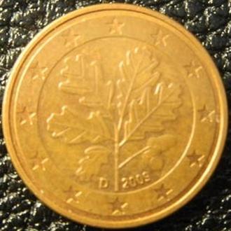 5 євроцентів 2009 D Німеччина