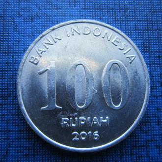 монета 100 рупий Индонезия 2016