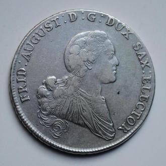 Саксония талер 1768 г., 'Курфюрст Фридрих Август І (1763-1806)', СОСТОЯНИЕ