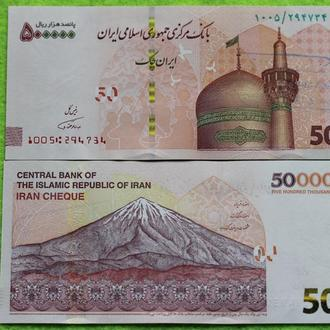 Иран 500000 риалов 2018 UNC