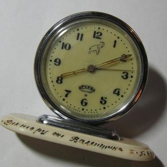 Часы Слава Дружба с будильником СССР