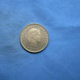Швейцария 5 раппенов 2005 год